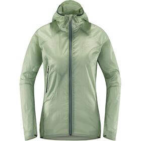 Haglöfs L.I.M Shield Comp Hood Dame blossom green